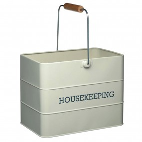 Living Nostalgia Housekeeping Box Grey Kitchenware
