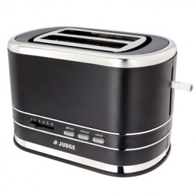 Judge 2 Slice Black Toaster 800w Toasters