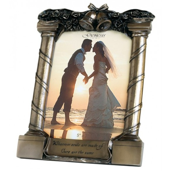 Gensis Bronze Wedding Frame Giftware