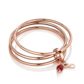 Triple Bangle Birthstone July Giftware