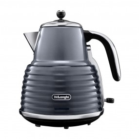 DeLonghi Scultura Kettle - Gun Metal Grey Kettles
