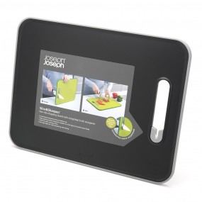 Joseph Joseph Slice & Sharpen Large Non Slip Chopping Board Utensils