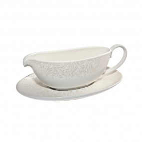 Denby Monsoon Lucille Gold Sauce Boat Stand