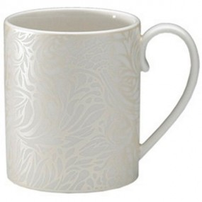 Denby Monsoon Lucille Gold Can Mug Kitchenware