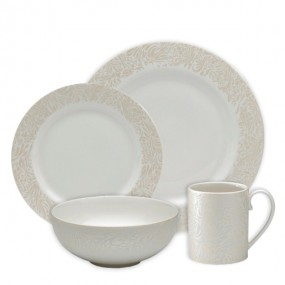 Denby Monsoon Lucille Gold 16 Piece Boxed Set