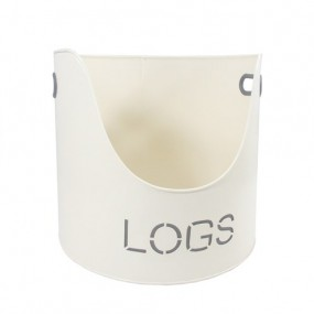 Sirocco Country Cream Logs Bucket
