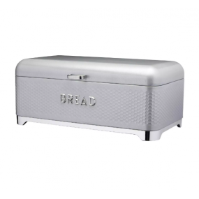 Lovello Textured Bread Bin - Shadow Grey Kitchen Storage