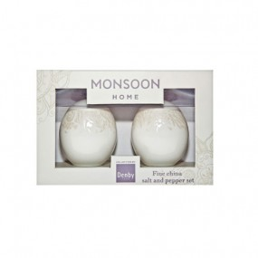 Monsoon Lucille Gold Salt & Pepper  Kitchenware