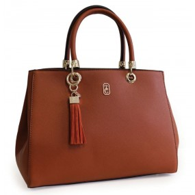 Tipperary Crystal Tote Milano Brown Handbag