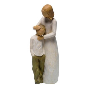 Mother and Son Celebrating the Bond Figurines