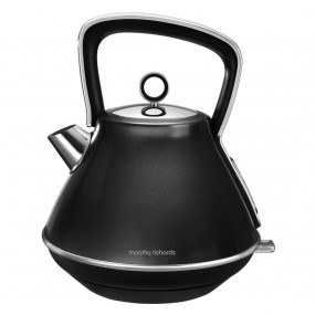 Morphy Richards Evoke Pyramid Kettle - Black Kettles