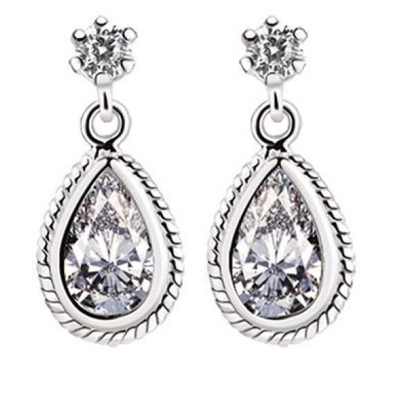 Clear Stone Studio Earrings Giftware