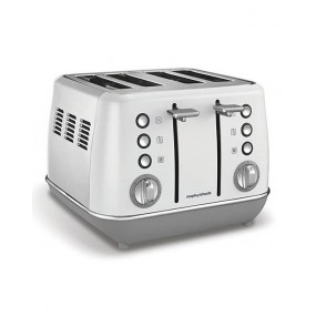 Morphy Richards Evoke 4 Slice White Toaster Toasters