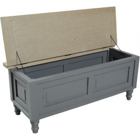 Storm Grey Storage Coffee Table/Trunk