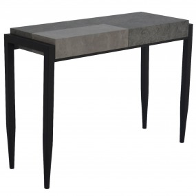 Vermont Sofa Table Light/Dark Concrete