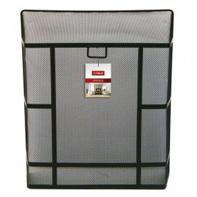 De Vielle Large Heavy Duty Black Rectangular Guard