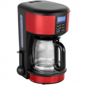 Russell Hobbs Legacy 10 Cup Coffee Maker Red Coffee Machines