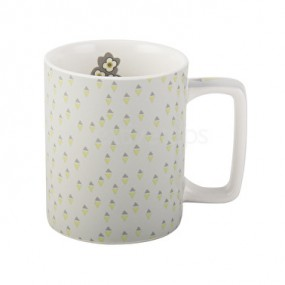 Katie Alice Retro Can Mug Grey Kitchenware