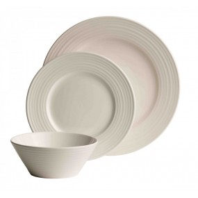 Belleek Ripple 12 Piece Dinner Set Dinner Sets