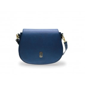 Tipperary Crystal Kensington Navy Blue Saddle Bag Bags / Purses