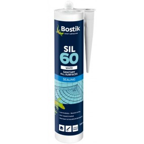 Bostik SIL60 Sanitary Sealant White 310ml