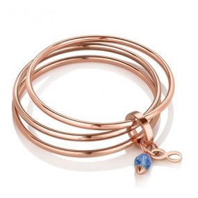 Triple Bangle Birthstone September Giftware