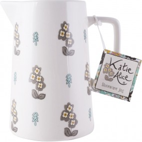 Katie Alice Pretty Retro Simple Floral Large Jug