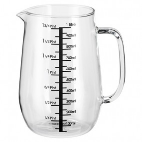 Glass Measuring Jug, 1l Kitchenware