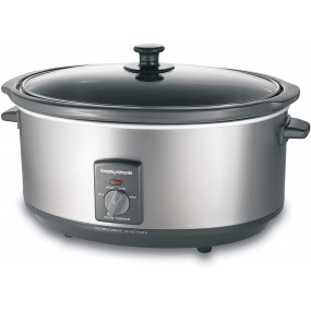 Morphy Richards Oval Slow Cooker 6.5L