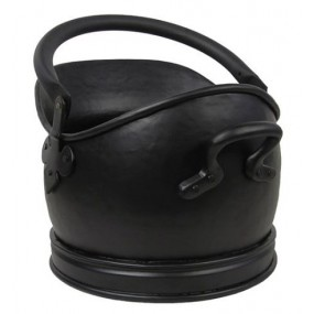 Sirocoo Small Black Handmade Coal Bucket