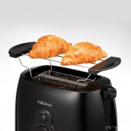 Sona 2 Slice Toaster - Black