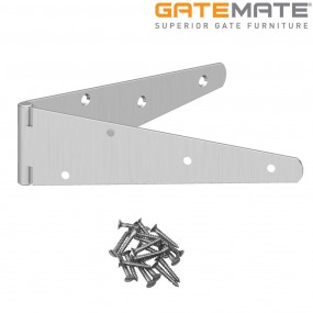 "Gatemate 10"" Medium Strap Hinges Gate Accessories"