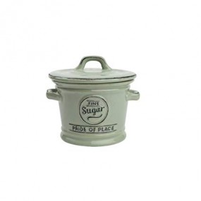T&G Pride of Place Green Sugar Bowl Kitchen Storage