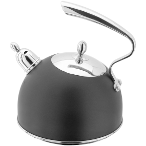 Stellar Stove Top Kettle Ebony with Whistle