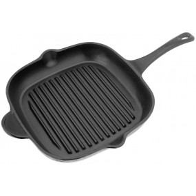 Stellar Cast 28x28 cm Grill Pan, Iron Kitchenware