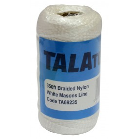 Tala Tools White 350ft Braided Nylon Masons Line Tools