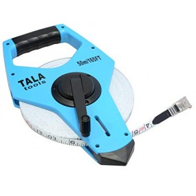 Tala Tools 50M/165ft Fibreglass Openframe Tape