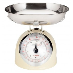 Judge Kitchen 5KG Cream Trad Scale Kitchenware