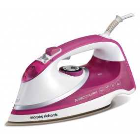 Morphy Richards Turbo Steam Iron - Pink Irons