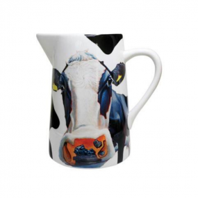 Tipperary Crystal Eoin O'Connor Cows Water Jug