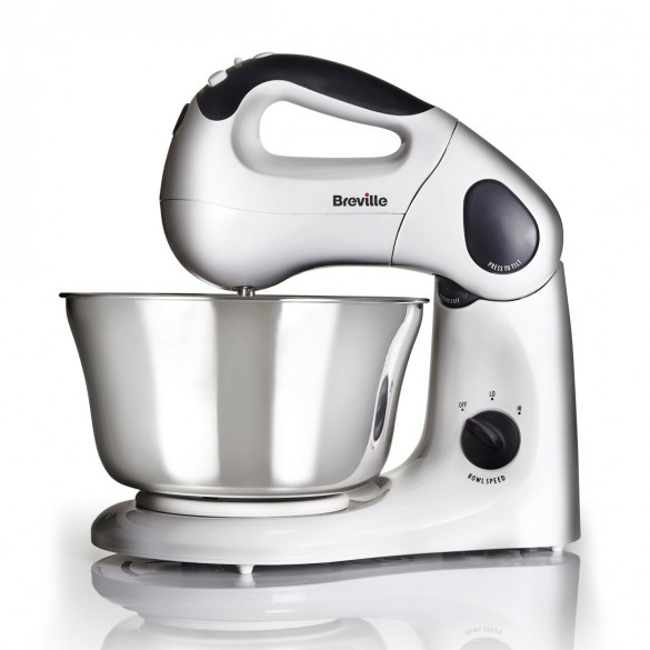 Breville Compact Twin Motor Hand and Stand Mixer