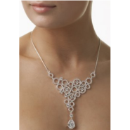 Necklace Clear Stones Jewellery / Watches