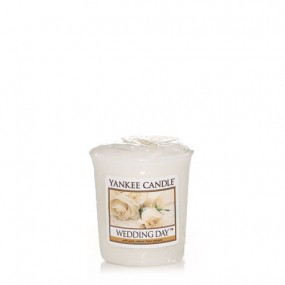 Wedding Day Votive Candle Candles