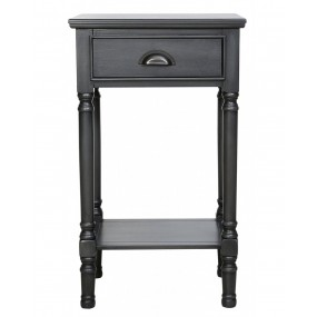 Grey Delta 1 Drawer Telephone Table