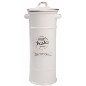 T&G Pride of Place Pasta Jar White Kitchen Storage
